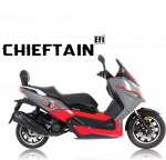 Lexmoto Chieftain 125cc E4 Maxi Scooter